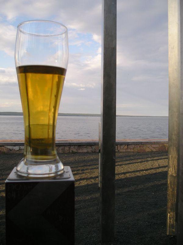 бокал вкусного пива