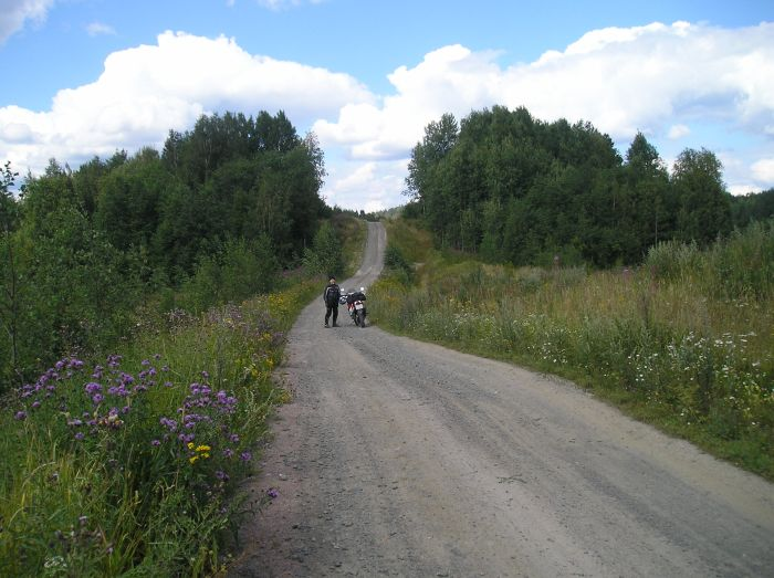 Грунтовые дороги в Карелии