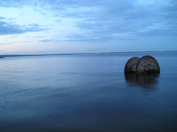 мото сюр катушка в озере
