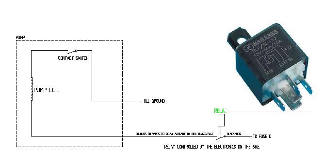 ...где буржуй предлагает устранить подгорание контактов, воткнув в стандартную схему дополнительное реле.