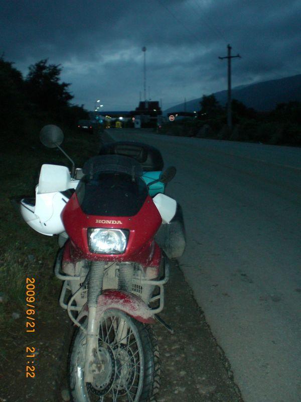 Мотоцикл Албания путешествие