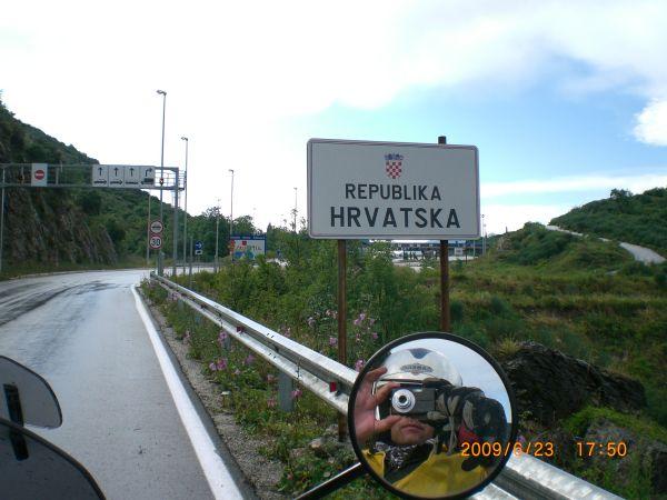 Республика Хорватия мотоцикл