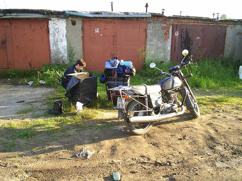 Подготовка мотоцикла к путешествию