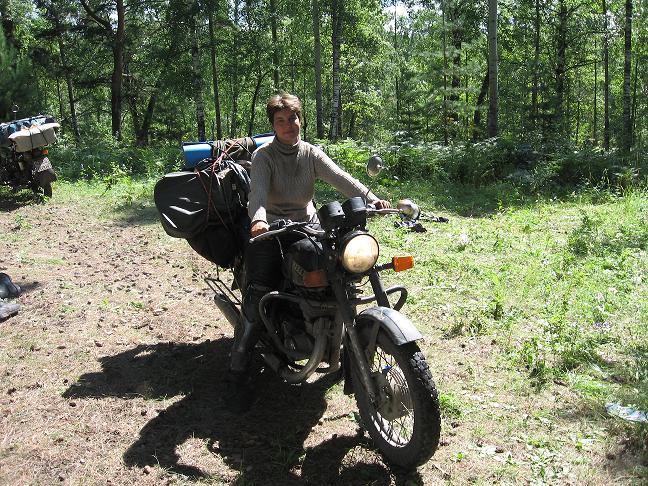 Путешествие на мотоцикле Иж