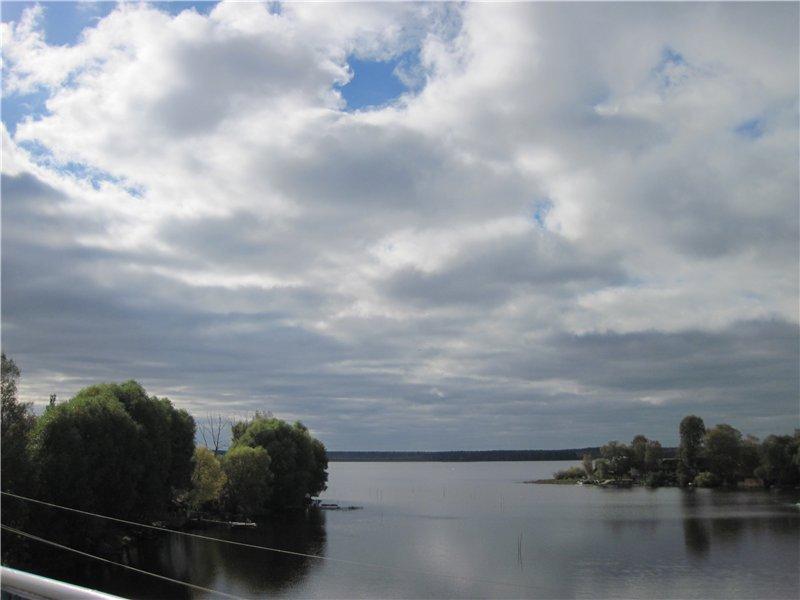 В Пено Волга уже вот такая