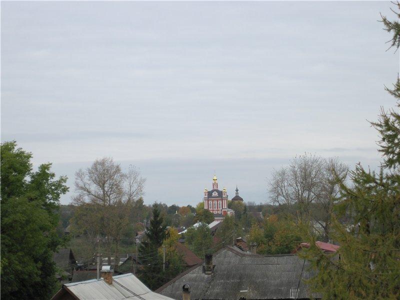 Виды с холма, места венчания Александра Невского с княжной Александрой