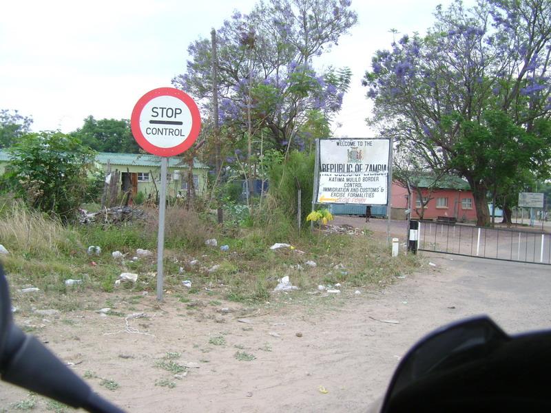 Погран переход Намибия (Каприви) – Замбия