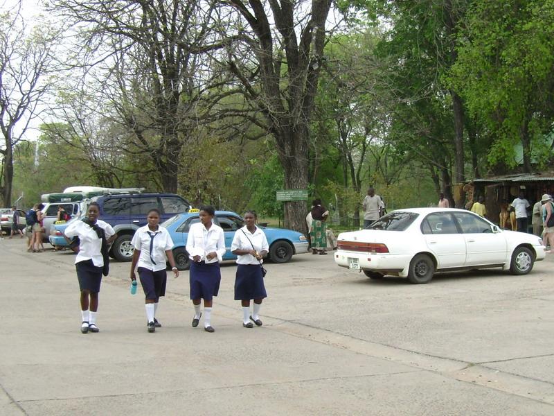 Африканские школьницы