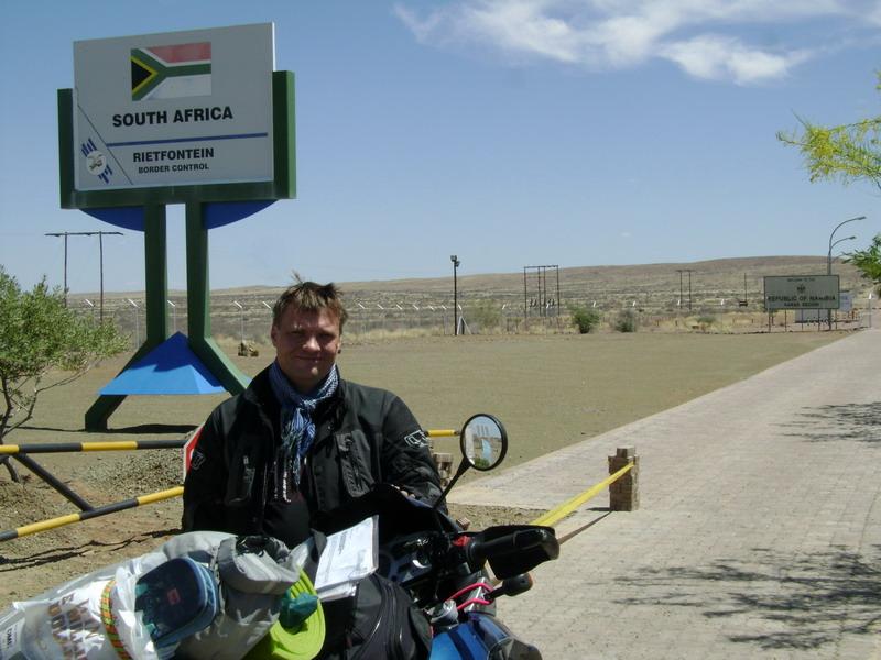 В Южную Африку на мотоцикле