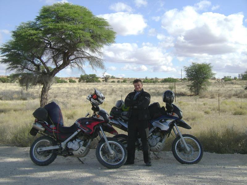 Путешествие на мотоцикле в Африку