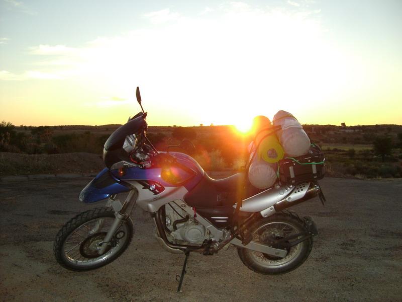 Закат солнца в Африке