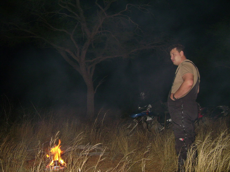Ночевка в палатке в Африке