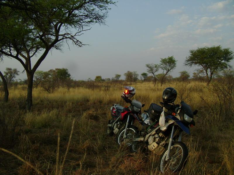 Мотоциклы перед стартом