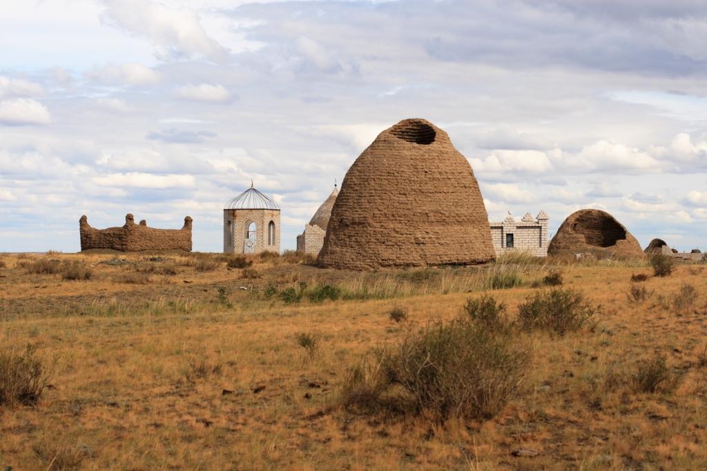 пустыня в монголии