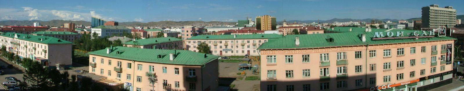 Монгольский город Уланбатор