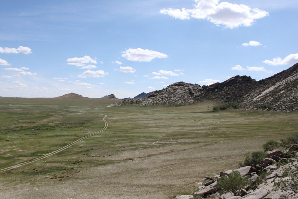 дорога монголии