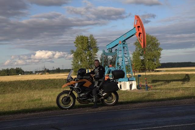 Путешествие на мотоцикле BMW