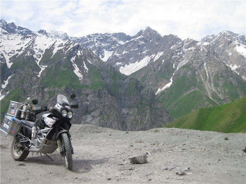 АфрикаТвин в горах